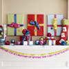 Bright and Cheery Holiday Mantel