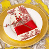 Berry Toile Napkin
