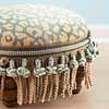 Ottoman with Tassels
