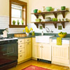 Arts and Crafts-Style Kitchen