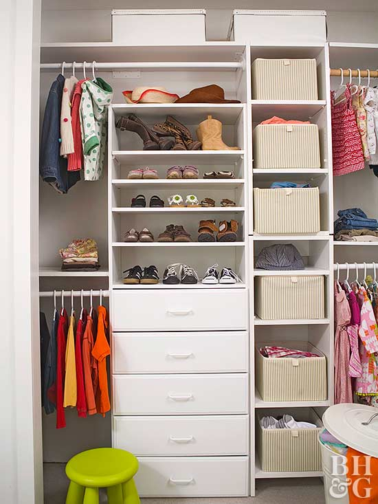 Kid Closets For Two
