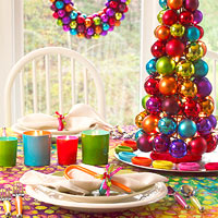 Christmas Table Decor