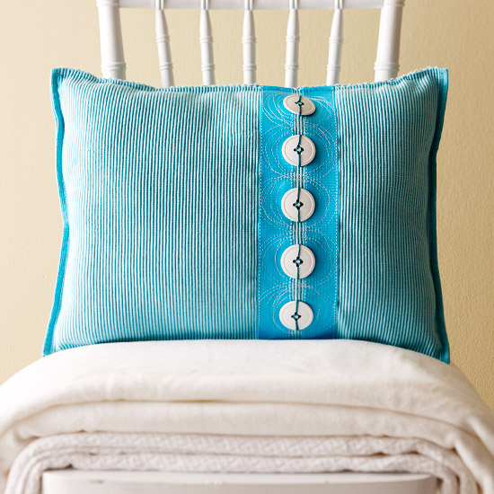 Easy-Sew Place Mat Pillow