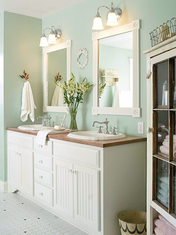 Bathroom Decor Ideas Double Sink