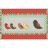 Chicken Applique Kitchen Quilt