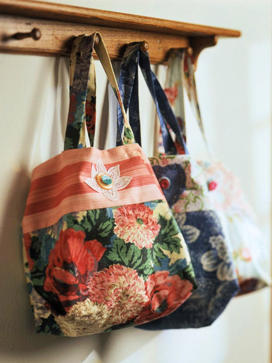Easy Floral Tote
