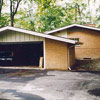 From Split-Level to Craftsman, Garage Before