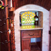 From Closet to Wine Cellar, Serving Counter