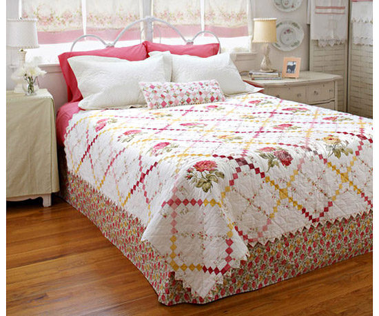 Pretty Pieced Quilt