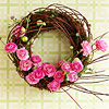 Moss-Covered Wreath