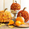 Floral Pumpkin Centerpiece