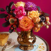 Create a Gilded Fall Centerpiece