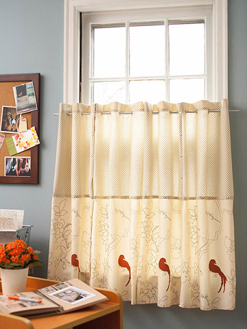 Customize Basic Window Treatments