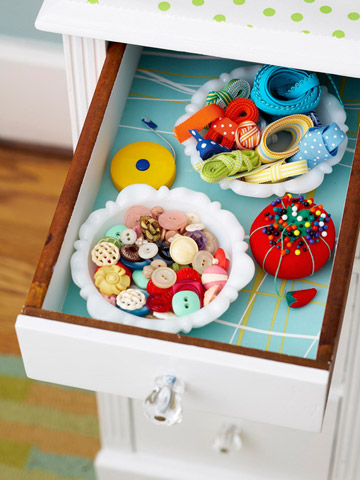 Store Your Sewing Supplies