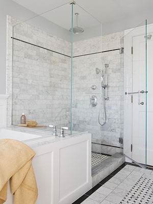 Cleaning Marble Shower Surrounds