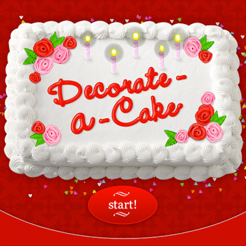 Fun Decorate-a-Cake Tool