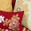 Painted Flower Pillows