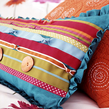 Punch up Plain Pillows