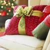 Ribbon and Tassel Pillow