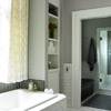 Recessed-and-Ready Bathroom Shelving