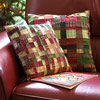 Woven Patchwork Pillow