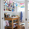 A Kids' Crafts Room