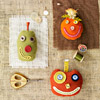 Cute Pumpkin Pincushions