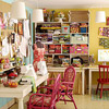 Fabric Designer's Crafts Room