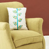 Fabric Leaf Pillow