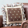 Fabric Overlay Pillow