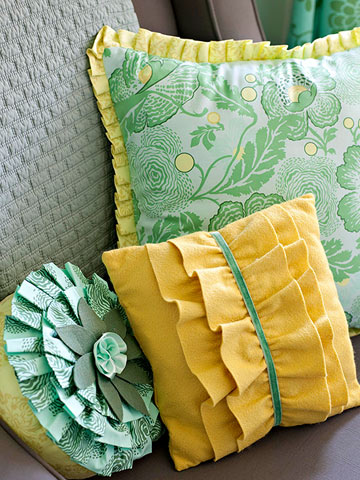 Stitch Simple Pillows