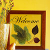 Framed Fall Welcome
