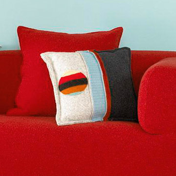 Felted Throw Pillow