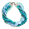 Multiple-Strand Beaded Necklace Color Option