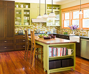 Kitchen Colors With Dark Cabinets