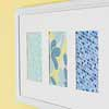 Framed Paper Pieces