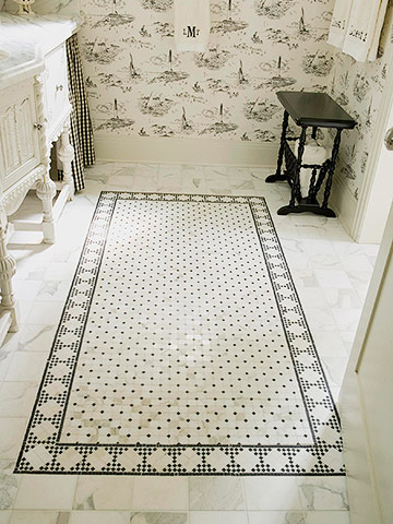 Find the Best Flooring for Your Bath!