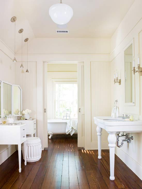 Hardwood Floor In Bathroom hardwood floor in bathroom photo 7 Clean Ideas For Bathroom Floors