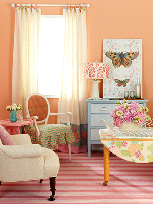 A Home Decor Makeover With Crafts