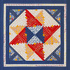Friendship Star Log Cabin Quilt