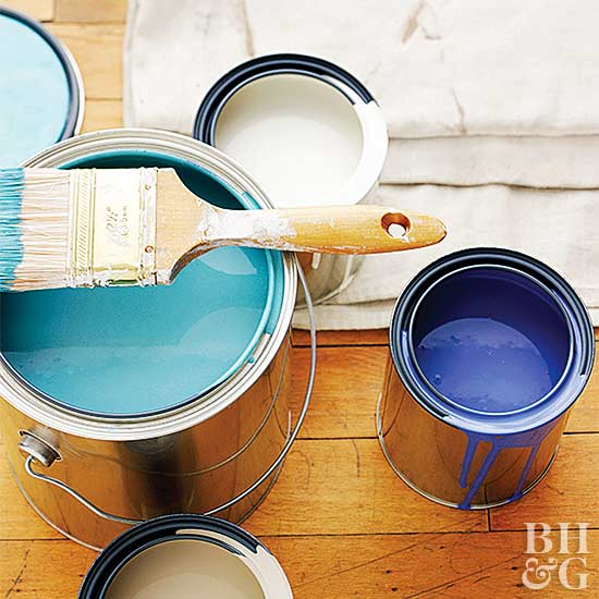 before you begin your project pick the proper paint choose latex paints in satin or eggshell finishes for most interior walls