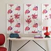 Bold Patterned Wall Hangings