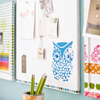 Fabric-Covered Corkboard