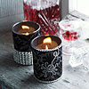 Sparkling Glass Votive Cups