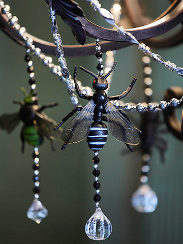 Halloween Spider & Insect Crystals for Your Chandelier