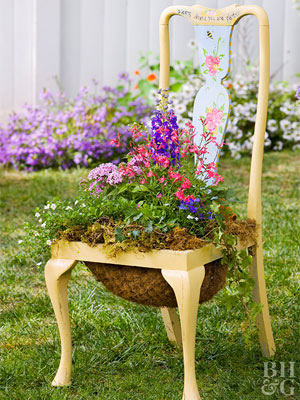 Elegant Give Bees And Butterflies A Resting Place With This Planter. Pink Pentas  And Red Salvia Are Surefire Favorites; White Bacopa, Blue Lobelia, And  Delphiniums ...