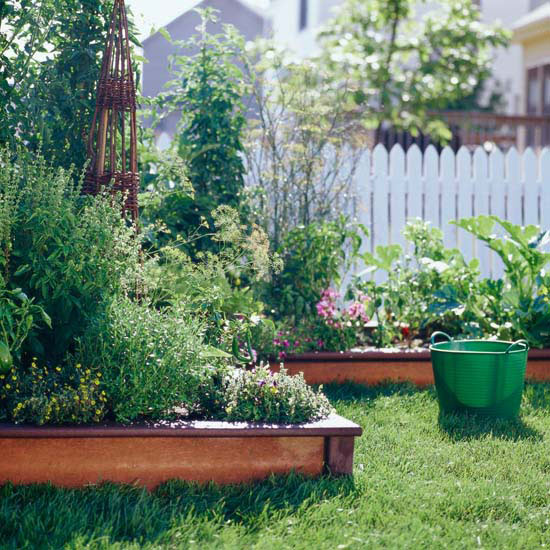 Benefit: Stop Grass from Invading with Raised Gardens