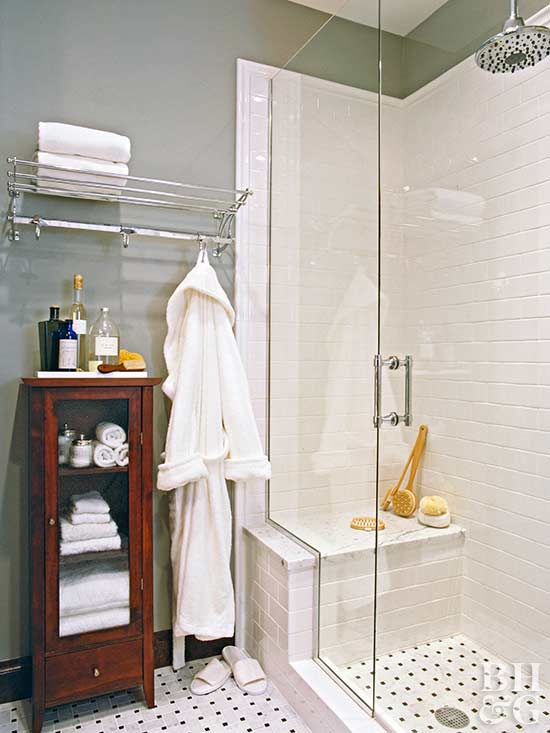 Cultured Marble Shower Glacial White Wall Panels With Full Trim Large Recessed Soap Shampoo