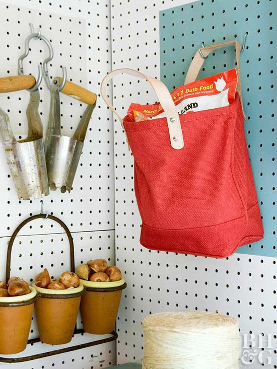 Get Organized with Pegboards