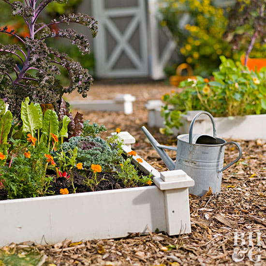 Design Tip: Add Decorative Elements to Raised Gardens